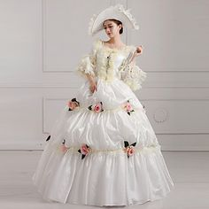 Steampunk®Georgian Victorian Party Gown Marie Antoinette Wholesalelolita Rococo Princess Ball Gown 2016 – €255.77