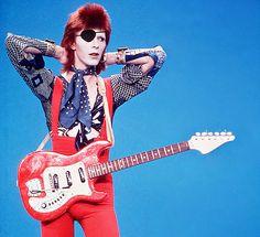 Ziggy Stardust, a genial criatura espacial de David Bowie.