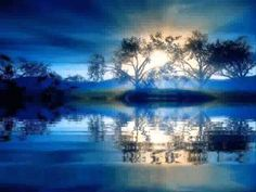 The perfect Landscape Nature Blue Animated GIF for your conversation. Discover and Share the best GIFs on Tenor. Gif Animé, Animated Gif, Beautiful Gif, Beautiful Pictures, Gif Bonito, Nature Gif, Water Reflections, Glitter Graphics, Gif Pictures