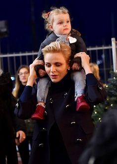 royal sass: Charlene & Gabriella at the Christmas Village
