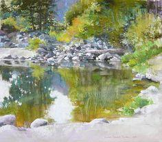 Barbara Newton-Pastel Landscape Demo on Mighty Art Demos