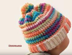 Klikni video Crochet Hats, Beanie, Youtube, Knitting Hats, Beanies, Youtubers, Youtube Movies, Beret