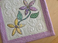 Sew Much Like Mom: Let's Face it, it's a Binding: Facing a Quilt Tutorial