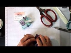 Envelope Punch Board Wedding Favour using Stampin' Up Products - YouTube