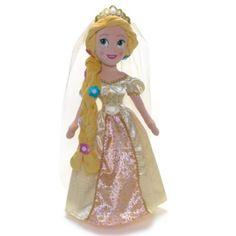 Rapunzel Wedding Soft Toy Doll   Disney Store
