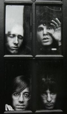 Doors in windows.Doors in windows.