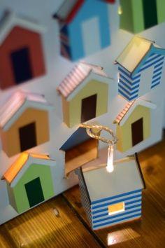 Beach Hut Light String £34