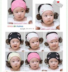 2012 Korean baby headband,infant hair accessories,girls headband Cute little bow wig hair band(3 colors),30pcs/lot,Free Shipping on AliExpress.com. $45.00