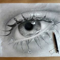 25 Beautiful Pencil Drawings from top artists around the world Eye Pencil Drawing, Beautiful Pencil Drawings, Pencil Painting, Pencil Art Drawings, Drawing Faces, Realistic Drawings, Cool Drawings, Art Sketches, Gas Mask Art
