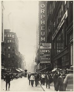 Washington Street by Boston Public Library, via Flickr #soMA, #soMAhistory, #scenesofnewengland