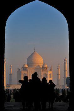 India- the taj mahal- agra, india