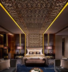 The Ritz Carlton, Hong Kong; Presidential Suite by LTW Designworks