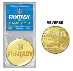 NFL Fantasy Footb... http://www.757sc.com/products/nfl-fantasy-football-bronze-game-coin?utm_campaign=social_autopilot&utm_source=pin&utm_medium=pin #boutiques #mall #style #shoppingaddict #promo #shoppingtime #musthave