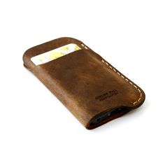 AtelierPALL.com - iPhone Leather Wallet Sleeve in Brown, $45.00 (http://www.atelierpall.com/iphone-ipad/iphone-leather-wallet-sleeve-in-brown/)