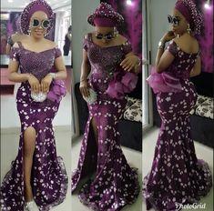 Asoebi style Nigerian Lace Styles Dress, Lace Gown Styles, Aso Ebi Lace Styles, African Lace Styles, African Lace Dresses, African Style, Latest Ankara Dresses, Ankara Long Gown Styles, Ankara Styles