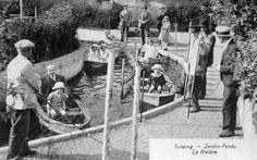 Le jardi Perdu avant 1930 couvre une superficie de 10 000 =>12 000 m² silionnée par 2450 métres de Haies vivantes,sentier,plaine des sports, manège