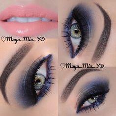 Maya Mia ♌️ Makeup Artist Products by photo Makeup Goals, Makeup Inspo, Makeup Inspiration, Makeup Tips, Beautiful Eye Makeup, Color Me Beautiful, Maya Mia, Subtle Makeup, Green Makeup