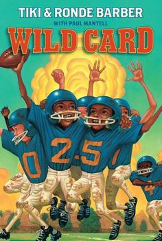 tiki barber football card | Wild Card (Barber Game Time Books) at Amazon.com