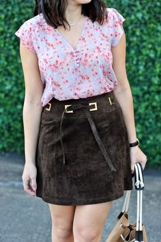 Asos Leather Skirt F