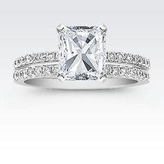 Radiant Cut Diamond. Love this one! Wedding & Engagement Rings | Diamonds | Jewelry Store | Shane Co.
