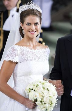 Princess Madeleine - Princess Madeleine Marries Christopher O'Neill
