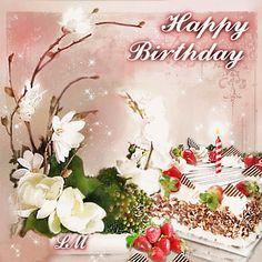 Birthday Name, Birthday Wishes, Happy Birthday Photos, Holiday Images, Name Day, Happy B Day, Birthdays, Pink, Cards