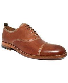 Johnston & Murphy Shoes, Clayton Cap Toe Lace Shoes - Shoes - Men - Macy's 195