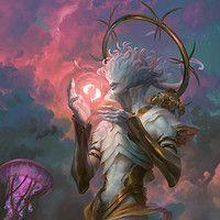 Barchiel, Angel of Pisces, Peter Mohrbacher