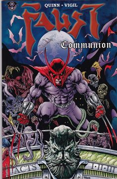Faust: The Communion Collection Signed Set (Volumes 1-4)