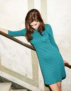 Today only, receive 20% off knitwear, just for being you! Shop here > http://www.bodenusa.com/womens-knitwear It's no exaggeration to say that this neat, knitted tunic is a 'one-style-suits-all(-and-most-occasions)' kind of dress. Try its comfortably slim fit and you'll see what we mean.