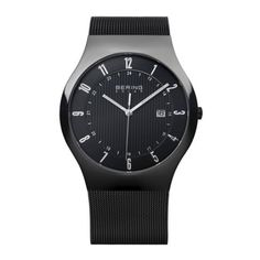 Awesome Bering Men's Black Solar Analog Watch | 14640-222 just added...