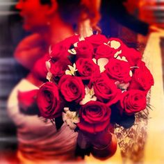 Roses bouquet for the best bride