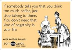 Friends don't tell friends to drink less coffee! #Coffee #Funny #MrCoffee
