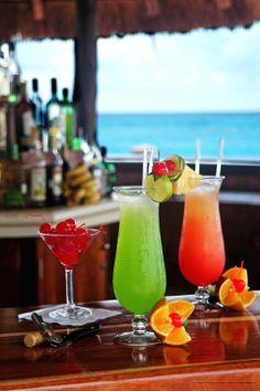 Krystal Hotel Cancun Mexico | Cascada Bar View at NH Krystal Cancun Resort in Cancun, Mexico.