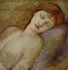 Study for the Sleeping Princess in The Briar Rose Series