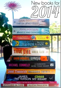 My reading pile for 2014 - what's in your pile?