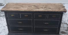 Refinishing idea for dresser
