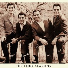 The Four Seasons posing in the mid-60s.