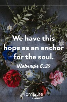 Amen! He is our #hope! #HopeforYourDay