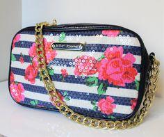 Betsy Johnson Chain Strap Bag