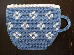 Presina tazza blu e bianca