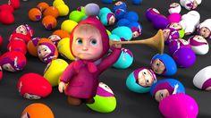 Masha Surprise Eggs!!!