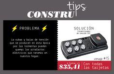 #ContruluzTips consejo #15.  Las subas y bajas de tensión puede quemar tus artefactos eléctricos tenemos la #SOLUCIÓN un estabilizador de tensión Sic.  www.construluz.com - info@construluz.com.ar   #luces, #deco & #showroom