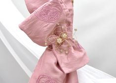 Pure grandeur is the result of this design of Orthodox Baptism Lambathes for girls! Decorated with gold, rich pink colors and individualized antique broaches. Baptism Candle, Pink Color, Bucket Bag, Candles, Pure Products, Antique, Colors, Girls, Design