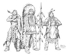 INDIANS by ~benitogallego on deviantART