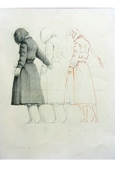 frederico infante, drawing. sense of movement, repetition.