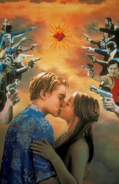 Romeo + Juliet by Baz Luhrmann 90s Movies, Good Movies, Movie Tv, Damien Sargue, Romeo Y Julieta, Young Leonardo Dicaprio, Star Crossed, Film Serie, Romeo And Juliet