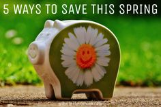 5 ways to save this spring