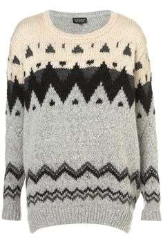 Knitted Chunky Fairisle Jumper - Scandi Girl - Collections - Topshop USA