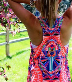 This neon aztec shirtis great!!